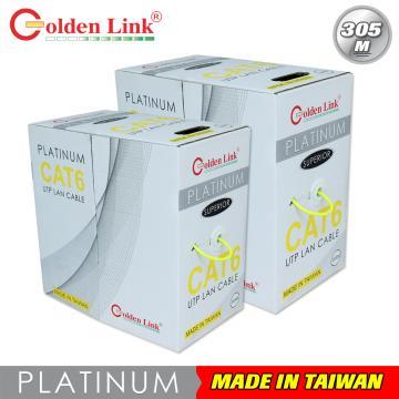 Golden Link UTP Cat 6 Platinum 100m (yellow)