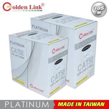 Golden Link UTP Cat 5e Platinum (White)