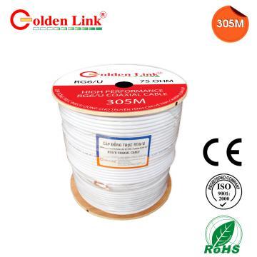 Coaxial cable Golden Link RG6 / U 100M