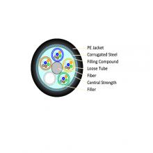 Alantek M-Mode 50/125 ( OM 2 ) Fiber optical  Chemical/Oil resistance cable, 4-core