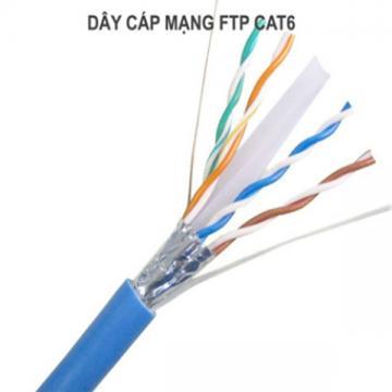 CÁP MẠNG GOLDEN JAPAN 4 PAIR FTP CAT 6 ( Màu xanh dương )